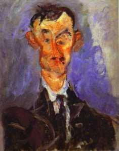 Soutine, Portrait of Emile Lejeune