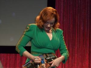 Christina Hendricks at PaleyFest 2014