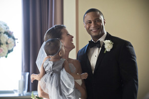 Lyla, Sara and Diggle
