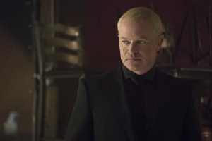 """Arrow -- """"The Candidate"""" -- Image AR402A_0063b -- Pictured: Neal McDonough as Damien Darhk -- Photo: Katie Yu /The CW -- © 2015 The CW Network, LLC. All Rights Reserved."""
