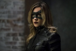 "Arrow -- ""The Candidate"" -- Image AR402A_0406b -- Pictured: Katie Cassidy as Black Canary -- Photo: Katie Yu /The CW -- © 2015 The CW Network, LLC. All Rights Reserved."