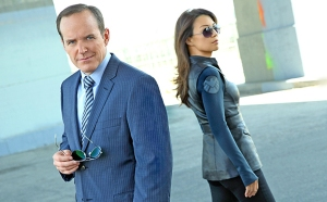 Clark Gregg and Ming-Na Wen as Phil Coulson and Melinda May, fanpop.com