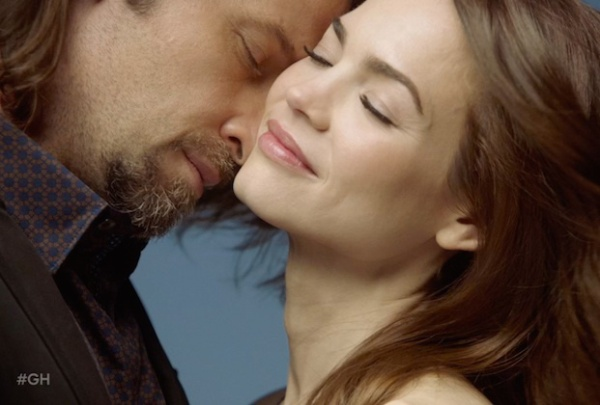 Roger Howarth (Franco) and Rebecca Herbst (Elizabeth), General Hospital, ABC Promo, via tvline.com
