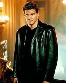 Buffy the Vampire Slayer's Angel (David Boreanaz) (wikipedia)